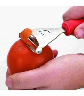 Dents transversales de Lacor éplucheur de tomates