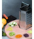Lacor 6-sided stainless grater