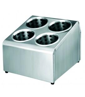 Soporte Para Cubiertos con 4 Vasos de Lacor