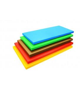 Board cutting polyethylene Hd Gastronorm 1/1 yellow of Lacor