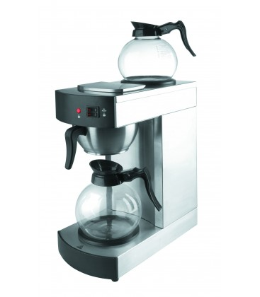 Coffee maker with 2 jugs glass of Lacor