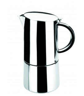 Cafetera Express Moka Inoxidable de Lacor