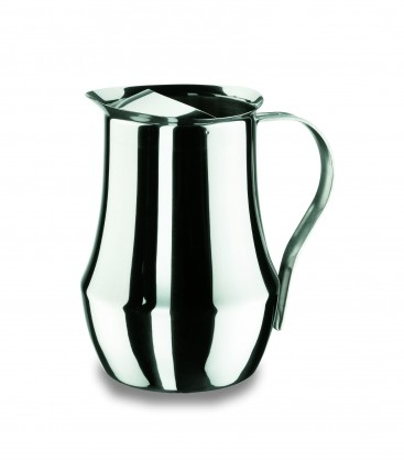 Pitcher Bombada with seal stainless Lacor
