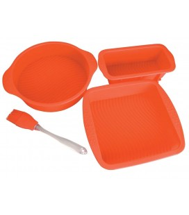 Game confectionary oven silicone 4 Pcs of Lacor