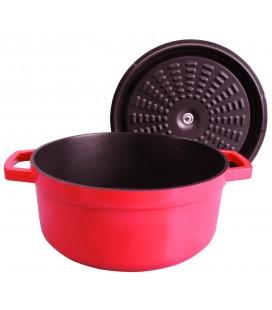Cast aluminium Lacor Lidded casserole