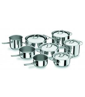 Batería de Cocina 8 Piezas Profesional de Lacor