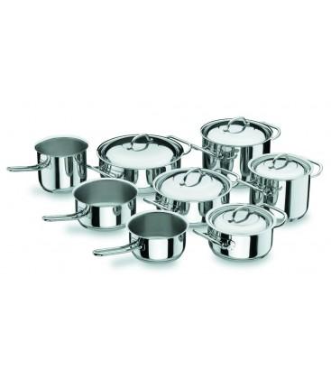 Batterie de cuisine professionnelle de 8 pièces de Lacor