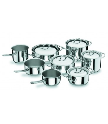 Professional 8-piece kitchen battery of Lacor