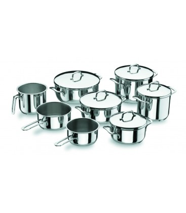 Kitchen 8 pieces of battery Lacor Gourmet