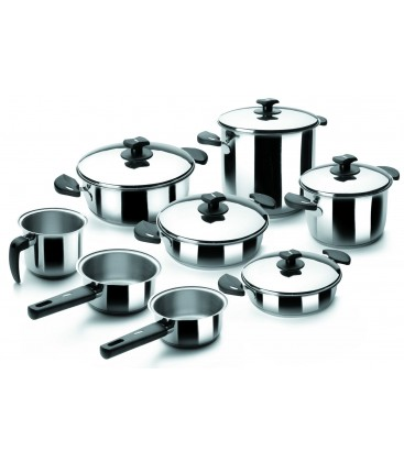 Batería de Cocina 8 Piezas Nova Ladycor de Lacor