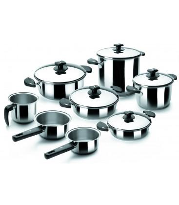 Pièces cuisine 8 de batterie Nova Ladycor de Lacor