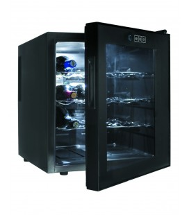 Refrigerator Cabinet Black Line 16 bottles of Lacor