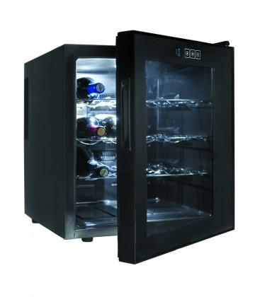 Bouteilles de Cabinet noir ligne 16 de réfrigérateur de Lacor