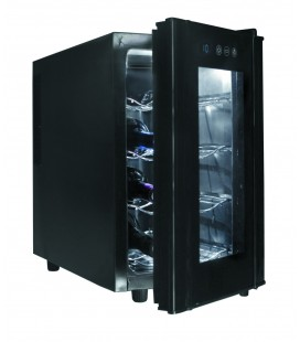Bouteilles de Cabinet noir ligne 8 de réfrigérateur de Lacor