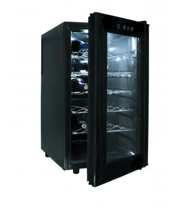 Refrigerator Cabinet Black Line 18 bottles of Lacor