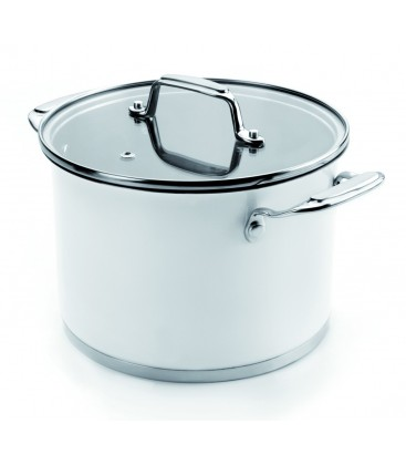 Stock pot with lid White of Lacor