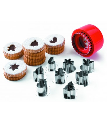 Set 8 cutters biscuits of Lacor