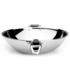 Semi-esferico wok Lacor Trimetal