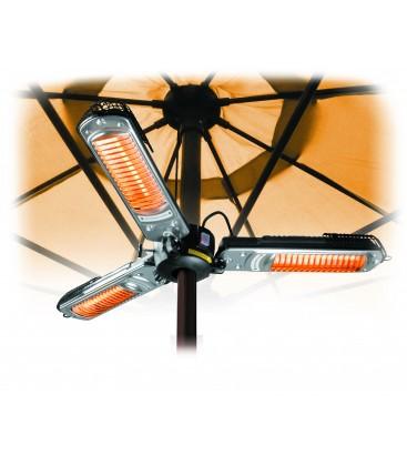Calentador Eléctrico 3 Brazos Abatibles 2000W de Lacor