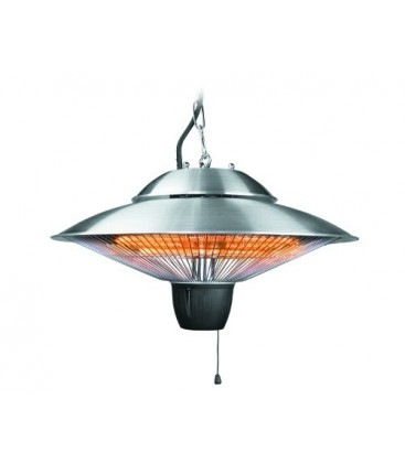 Lacor lamp electric heater 1500W (42 X 29 Cm)