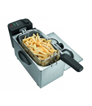 Friteuse électrique 3,5 L 2000 W de Lacor