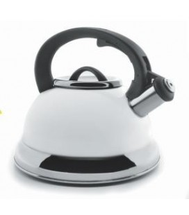 Whistling Kettle White 2.5 litres of Lacor