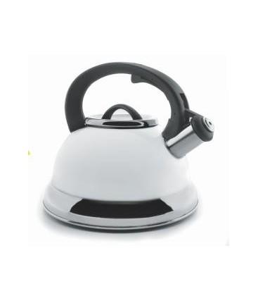 Sifflement bouilloire blanc 2,5 litres de Lacor