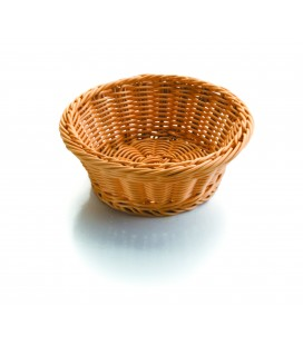 Basket of bread round