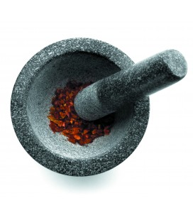 Hand of Lacor granite mortar