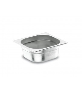Tray GN 1/4 Lacor 18/10 stainless steel