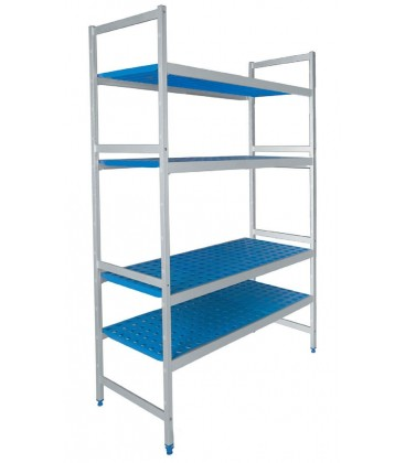 Double shelving 4 racks of Lacor