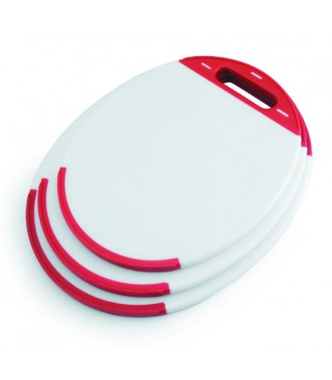 Tabla corte polietileno oval de Lacor