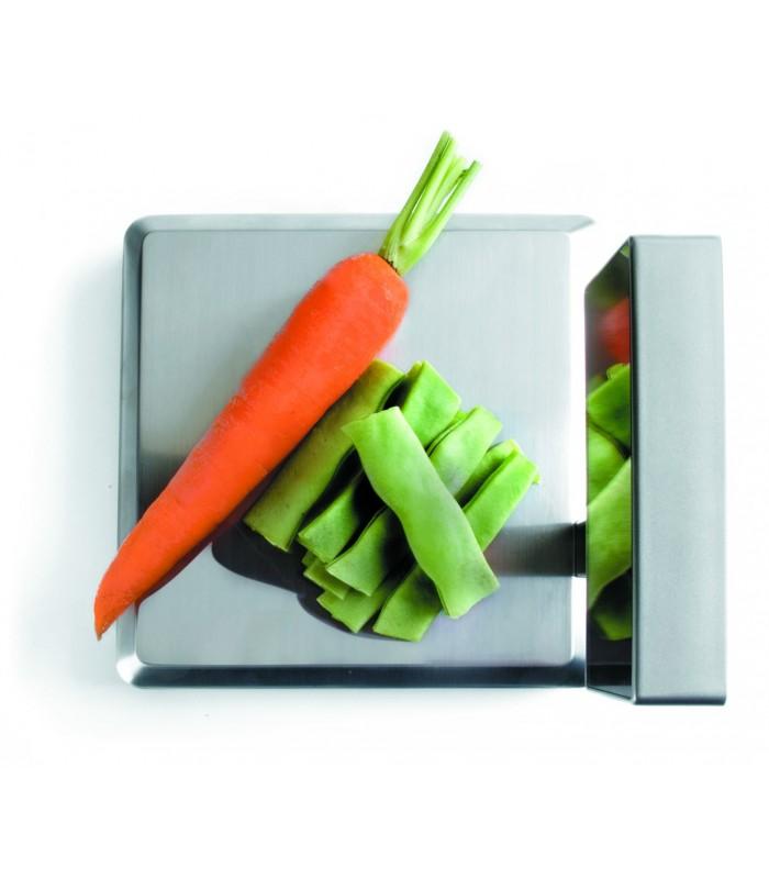 B scula de cocina electr nica inoxidable de lacor for Bascula cocina profesional