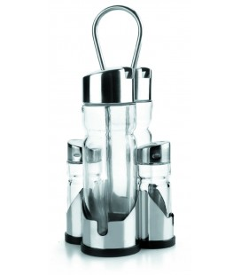 Lacor basic 4-piece cruet set