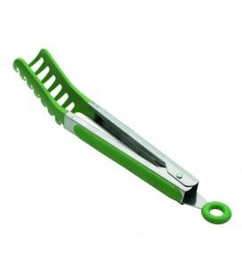 Pince à spaghetti en nylon vert de Lacor