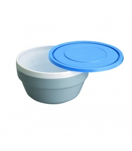 Wall polycarbonate with Lacor lid Bowl