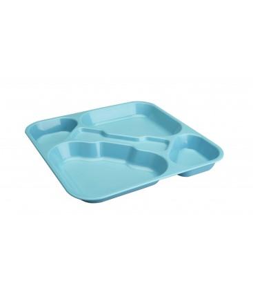 Tray self-service Lacor blue polycarbonate