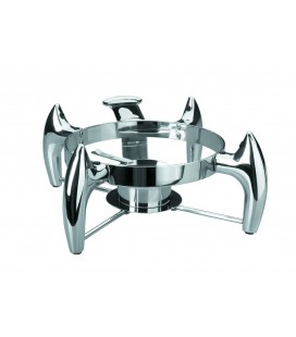 Support chafing-dish luxe round of Lacor