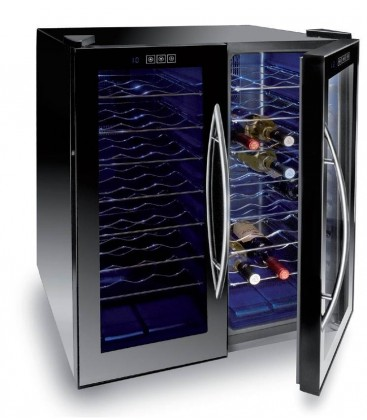Refrigerator Cabinet Black Line 48 bottles of Lacor
