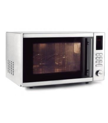 Horno microondas con plato y grill de Lacor