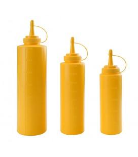 Bouteille jaune bouteille de Lacor