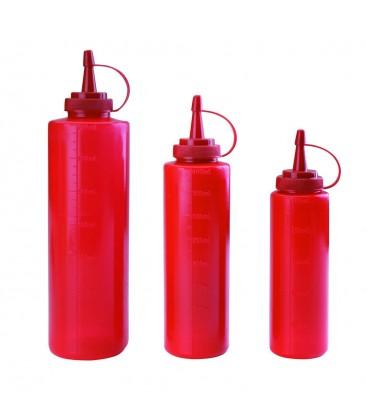 Red bottle bottle of Lacor