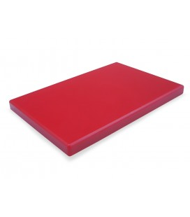 Board cutting polyethylene Hd Red 1/2 Gastronorm of Lacor