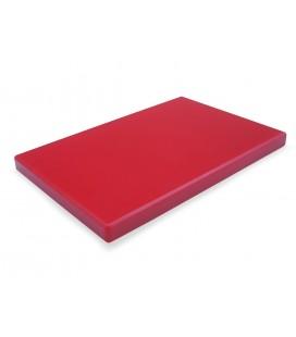 Tabla Corte Polietileno Hd Gastronorm 1/2 Rojo de Lacor
