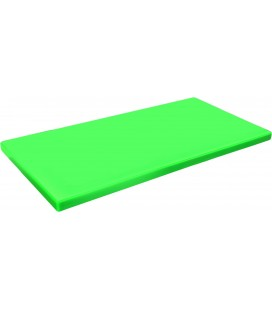 Board cutting polyethylene Hd Gastronorm 1/1 green of Lacor
