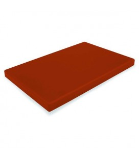 Board cutting polyethylene Hd Brown 1/1 Gastronorm of Lacor