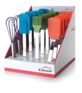 Lacor Orange silicone spatula