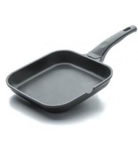 En aluminium coulé de Grill lisse noir lacor