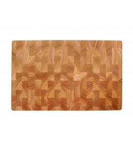 Tableau Coupe du caoutchouc bois 530 x 325 x 40 CM de Lacor