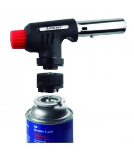 Professional gas torch head + adapter of Lacor